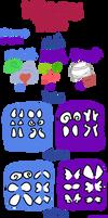Dracopod traits by sapphicool