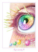 rainbow eye by ftourini