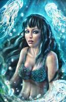 Mermaid jellyfish by ftourini