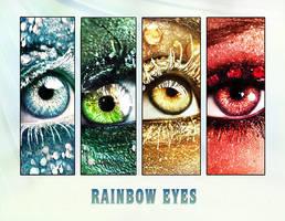 2013 calendar rainbow eyes by ftourini