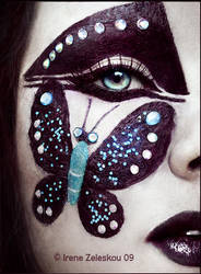 Gothic butterfleye by ftourini