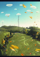 Psychedelic valley by ftourini