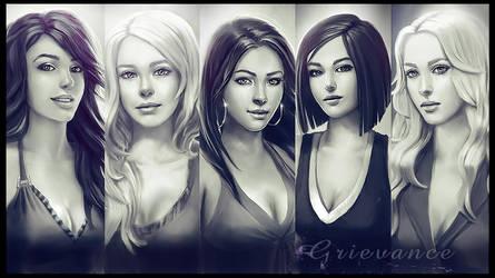 grievance girls wallpaper by ftourini