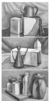 Pencil studies by ftourini