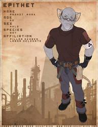 EPITHET comic char: Brandt by JayAxer