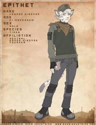 EPITHET comic char: Lennox by JayAxer