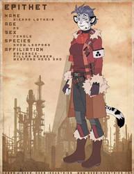 EPITHET comic char: Sienna by JayAxer
