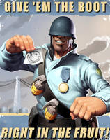 TF2 Soldier by JayAxer