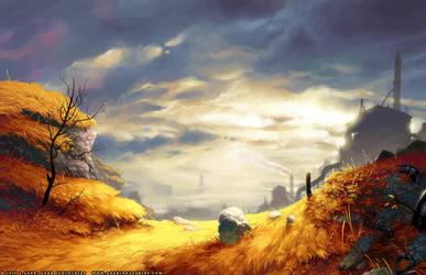 Fall Factories by JayAxer