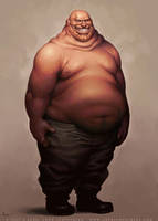 Fatty by JayAxer