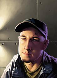 Self Portrait by JayAxer