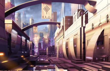 Tech City Market by JayAxer