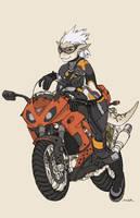 She Rides by JayAxer