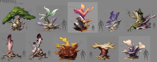 Coral Forest Prop Concepts by JayAxer