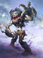 Hearthstone - Ghoul (frozen Throne) by JayAxer