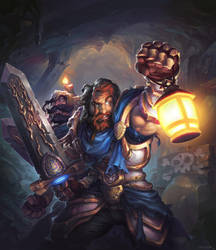 Hearthstone - George and Karl by JayAxer