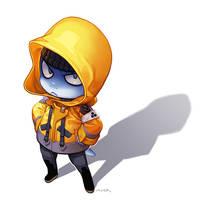 Angry Raincoat by JayAxer