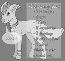 P2U Canine Base Pack by jurassiq