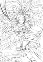 Millia Rage GG by Achrafuuu