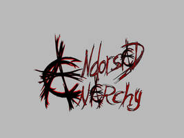Endorsed Anarchy Logo by blood