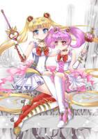 Steam Punk Sailor Moon contest entry by vixiebee