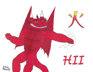 Hii Art by RyukiGrayDragon
