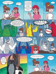 Dark Dragon Saga Mini-Comic: Life at Sanctuary Inn by RyukiGrayDragon