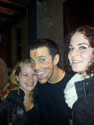 Just me, my BF, oh and Steve-O by Riangel