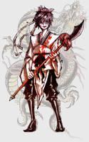 Magi: Ren Hakuryuu by hantinexd