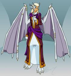 Quartz Queen of Dragonkin by PhoenixTrooper