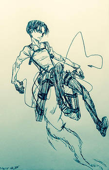 SnK - Levi [#IsayamaStyle] by SimplEagle