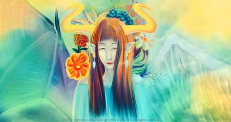 Cloud fairy by AngelLeila