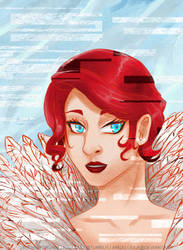 Transistor's Red by AngelLeila