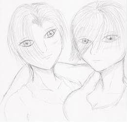 Me and Sara by Demon-Keychain