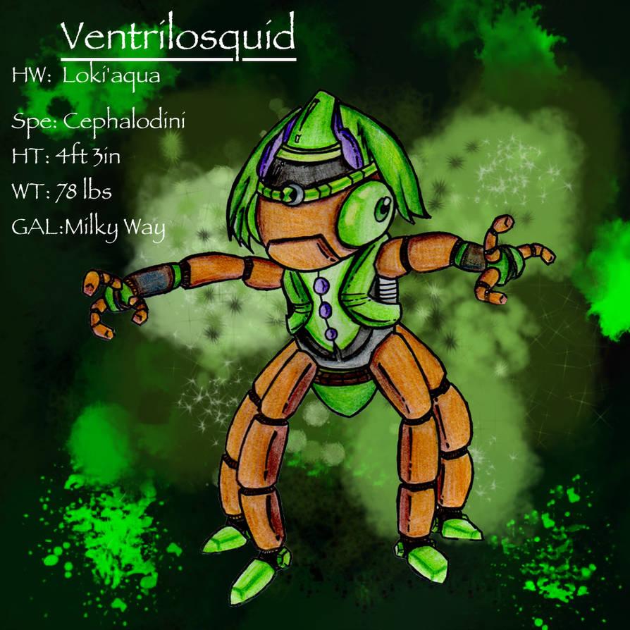 Ventrilosquid Benken Tennyson Alien By Averywilliams98 On Deviantart