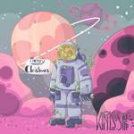 Secret Santa - Stuck in Space by Kirils-stuff