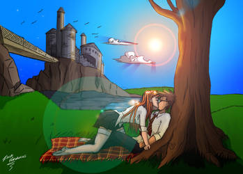 Harry and Ginny by zack-fernandes