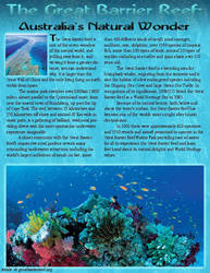 Great Barrier Reef Articles by Looneytaz82