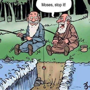 Moses, stop it! by TheWolfLP