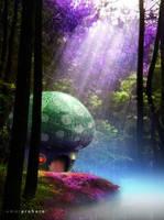 Mushroom House by kumkumkum