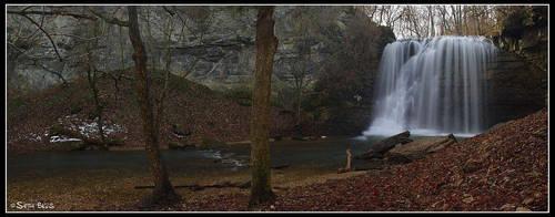 Hayden Falls Panorama by MariusStormcrow