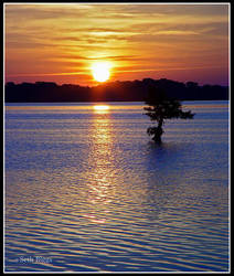 Sunrise Over Reelfoot 2 by MariusStormcrow