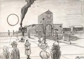 The railwaystation of Hindenburg by MrARTism