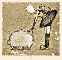 Sleep Sheep by Niebela