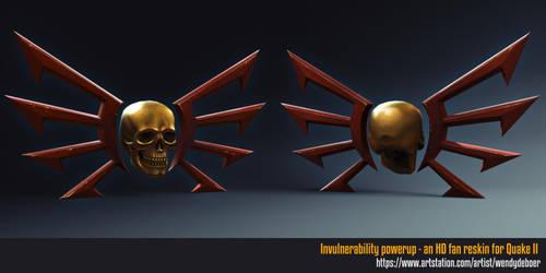 Invulnerability power-up by Wayuki