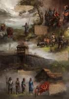 Pilsen history poster by Skvor
