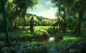 Shepherdess by Skvor