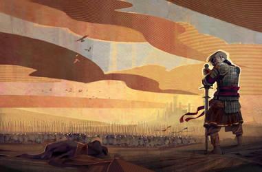 A Half King by Skvor
