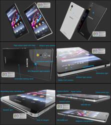 Sony Xperia Quartz Concept by reeflotz