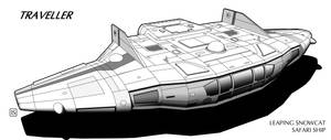 Traveller: Leaping Snowcat Class Safari Ship by biomass